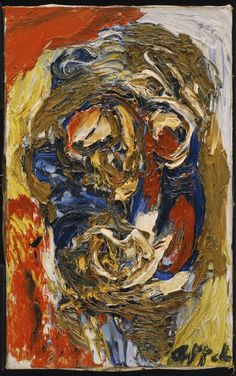 Appel, Karel - Sans titre (Tête) - Philadelphia Museum of Art