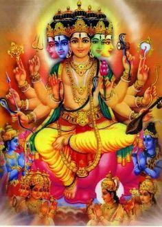 Lord Vishwakarma the architect of the universe Hanuman Ji Wallpapers, Lord Vishnu Wallpapers, Lord Ganesha Paintings, Lord Shiva Painting, Indian Goddess, Durga Goddess, Om Namah Shivaya, Bhagavad Gita, Bal Hanuman