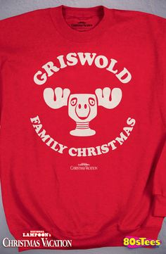 Griswold Christmas Sweatshirt: Christmas Vacation Mens Sweatshirt