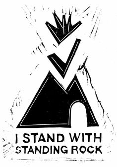 Art by Dylan Miner in solidarity with the Standing Rock resistance blocking the Dakota Access Pipeline. Art available at: http://justseeds.org/no-pipelines-on-indigenous-land/ #NoDAPL