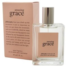 Amazing Grace Perfume by Philosophy 2 oz / 60 ml EDT Spray for Women New in Box #Philosophy