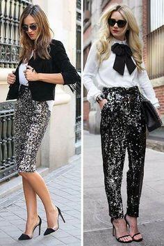 Outfits con brillos para un look glamuroso | Belleza