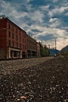 The Historic Town of Thurmond - photo by WVU Art Student, Will Deskins