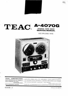 Akai GX-280-D-SS reel to reel tape recorder Service Manual
