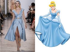 What If a Disney Princess Wore Haute Couture?