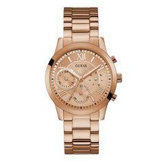 Γυναικείο ρολόι GUESS W1070L3 με ροζ καντράν 324b44441da