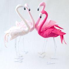 Stuffed Flamingo sewing pattern