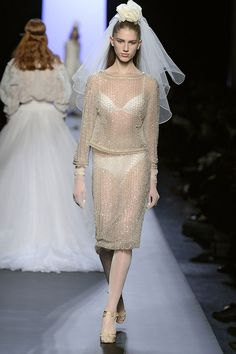 Le défilé Jean Paul Gaultier haute couture printemps-été 2015 40 | Vogue