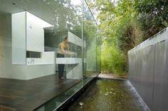 Villa Berkel in the Netherlands // indoor outdoor connection