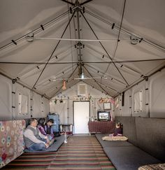 The Ikea Foundation has designed an alternative to the canvas tent as a shelter for refugees. This one's got locked doors and electricity.