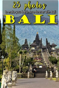 Bali in 25 photos | Indonesia | The Island of Gods | Bali Indonesia | Bali temples |Bali waterfalls | Bali architecture | Bali Asia | Southeast Asia