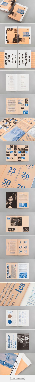 TIFF 2017 Annual Report on Behance. - a grouped images picture Profolio Design, Layout Design, Graphic Design Layouts, Graphic Design Print, Print Layout, Brochure Design, Book Design, Branding Design, Editorial Design Layouts