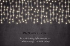 Chalkboards And Fairy Lights By Paper Farms