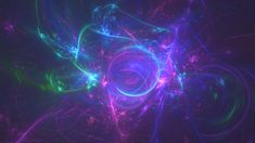 Blissful Particles Background 02