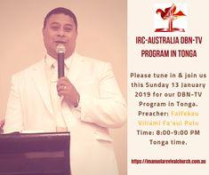 IRC-Australia DBN-TV Sunday 13 January 2019 – Faifekau Fa'aui Pulu 7 April, Sunday, Australia, Ads, Facebook, Domingo