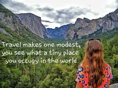 Saturday motivation….. Travel makes one modest, You see what a tiny place  You occupy in the world….!!! #travel #place #world #destination