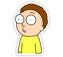 Morty :3 Sticker