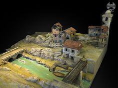 Italy WW2 Village – 28mm scale Bolt Action – No.2