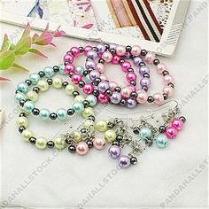 Fashion Glass Pearl Jewelry Sets, with Non-magnetic Hematite Beads and Brass Earring Hooks, Earrings
