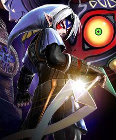 The Legend of Zelda: Majora's Mask / Fierce Deity Link and The Happy Mask Salesman