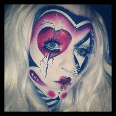 Not really a day-to-day look, but definitely very artistic! ^_^ #sugarpill #limecrime #inglot
