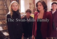 The Swan-Mills Family