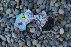 Vintage Disneyland Inspired Minnie Mouse Disney Ears by teilormade #Disney #Disneyland #DisneyWorld #WDW #DisneyHeadband #Minnie #MinnieMouse #Mickey #MickeyMouse #DIY #DiyMouseEars #MouseEars #ClassicDisney
