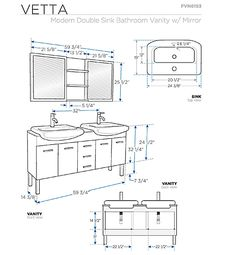 standard height of bathroom vanity with vessel sink bath in 2019 rh pinterest com