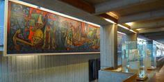 6 surviving vintage murals in Vancouver Vancouver Architecture, Captain James Cook, David Thompson, British Columbia, Centre, Survival, History, Artist, Historia