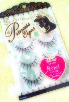 disney falsies | ariel   Ive never worn falsies. I'm now making an exception.