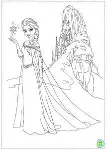 Frozen Printable Coloring Pages Drawing 1 Frozen Coloring Pages