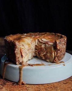 Deep dish caramel apple pie. Need.