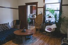 Isaac and Florence's Eclectic Zen-Inspired Apartment