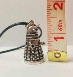 Cute Dalek-inspired Necklace, from Geek is a Verb Doctor Who Dalek, Nerd Geek, David Tennant, Dr Who, Tardis, Superwholock, Sherlock Holmes, Star Trek, Supernatural