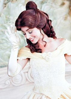 belle beauty and the beast Disney World Princess, Disney Princess Makeup, Disney Makeup, Disney Hair, Disney Princesses, Walt Disney World, Walt Disney Pictures Movies, Disney Movies To Watch, Disney Girls