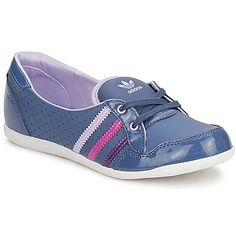 FORUM SLIPPER K Blue / Pink / Purple - girl's tainers shoes