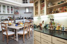 Sin dudas, esta cocina es el corazón de la casa. La gran mesa central la convierte en un espacio integrado, ideal para una familia.  /Archivo LIVING