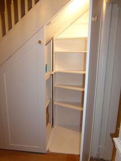 Home Understairs Storage Installations Understairs Storage home installations st Understairs Ideas home installations storage Understairs Corner Storage, Cupboard Storage, Storage Spaces, Closet Storage, Staircase Storage, Stair Storage, Staircase Design, Made To Measure Wardrobes, Childrens Shelves
