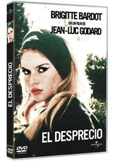 El desprecio (1963) Francia. Dir.: Jean-Luc Godard. Drama. Cine dentro do cine. Nouvelle vague - DVD CINE 1957-IV