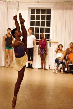 Michaela DePrince from First Position Dance Dreams, Black Ballerina, Misty Copeland, Dancing In The Dark, Ballet Beautiful, African Diaspora, Lets Dance, Dance Pictures, Dance Art