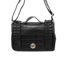 Nila Anthony Ruffle Messenger Bag from LittleBlackBag.com