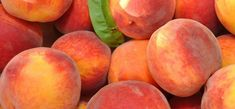 Everything is just PEACHY today! It's both National Eat a Peach Day and National Peach Month ! In honor of the day (and month), throw som. Hibiscus, Spiced Peaches, Peach Cookies, Eat A Peach, Peach Fruit, Fresh Fruit, Just In Case, Just For You, Grilled Peaches
