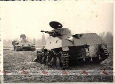 разбитый  советский  плавающий танк Т-40