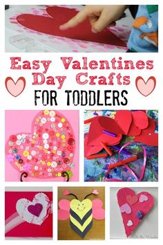 Valentines Day Crafts for Toddlers: Tuesday Tutorials - Crafts on Sea