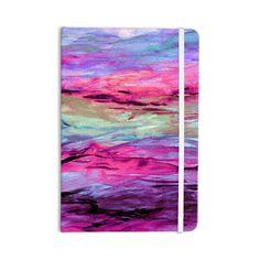 Kess InHouse EBI Emporium Unanchored 4 Pink Lavender Wall Clock 12