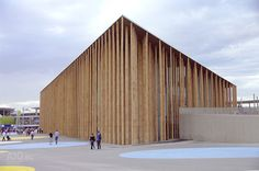 Spanish pavilion at the International Expo Zaragoza 2008 (Photo: Onofré Durán)