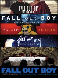 Fall Out Boy Believers Never Die Wallpaper Take This To Your Grave From Under The Cork Tree