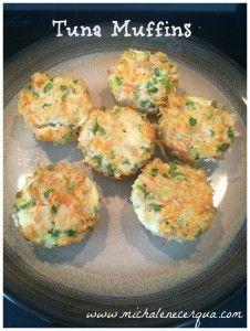 tuna muffins lent recipe