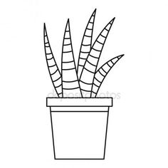 Letöltés - Zamatos ház növény ikon, vázlat stílusában — Stock Illusztráció #143596639