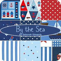 By the Sea Fat Quarter Bundle Deborah Edwards for Northcott Fabrics - Fat Quarter Shop